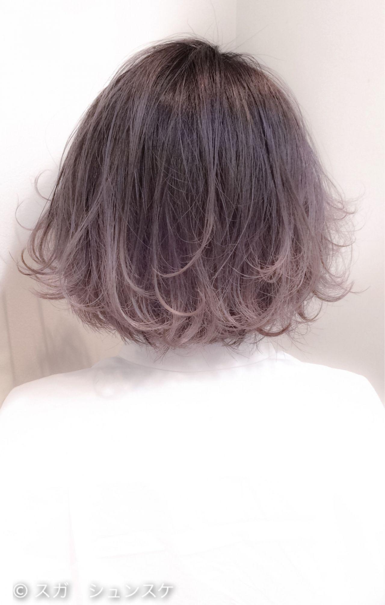 ショートカットの魅力UPはグラデーションカラーで!髪色の魔法で変身♡ スガ シュンスケ