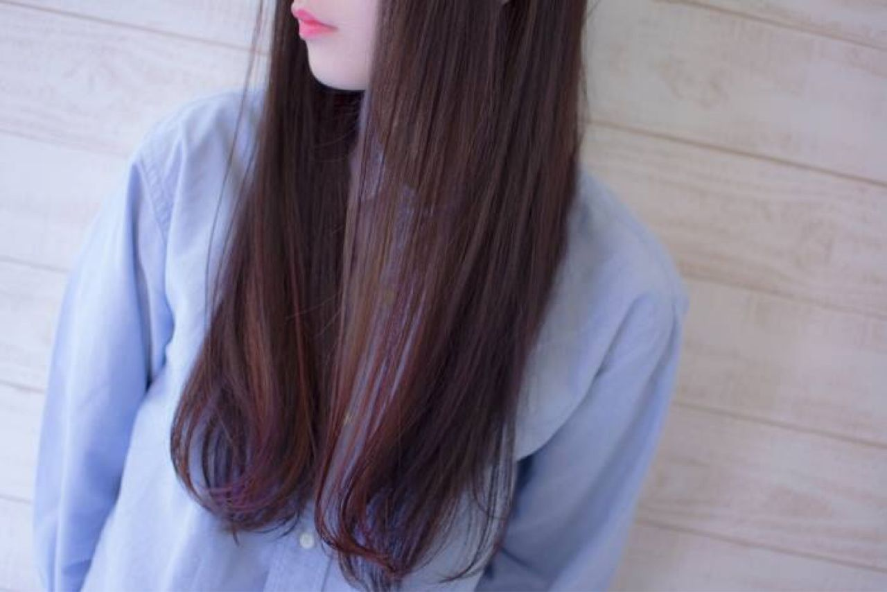 大注目の暗髪×グラデーションまとめ♡ポイントは毛先とハイライト 田渕 英和/vicushair