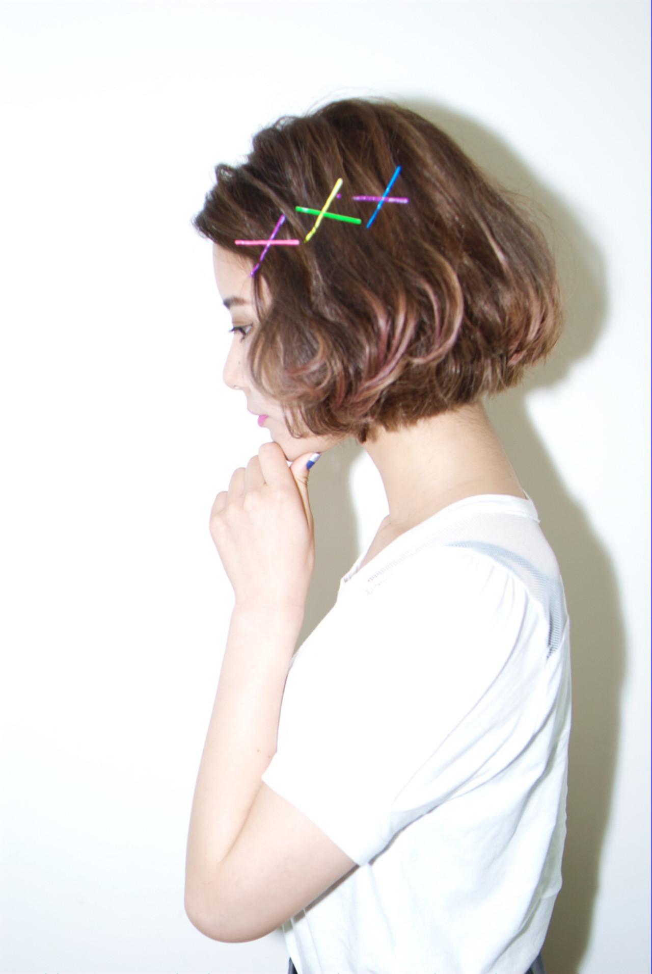 ショートカットの魅力UPはグラデーションカラーで!髪色の魔法で変身♡ カワノナオト