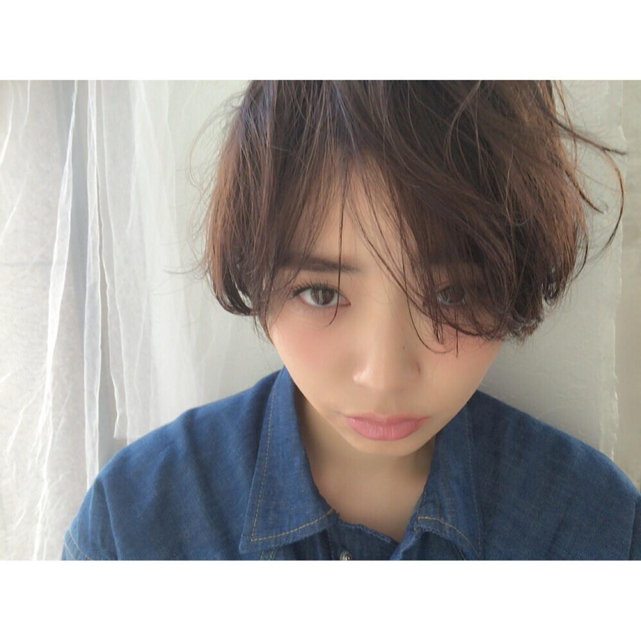 綺麗なカタチで魅了♡マッシュショート joemi 大久保 瞳