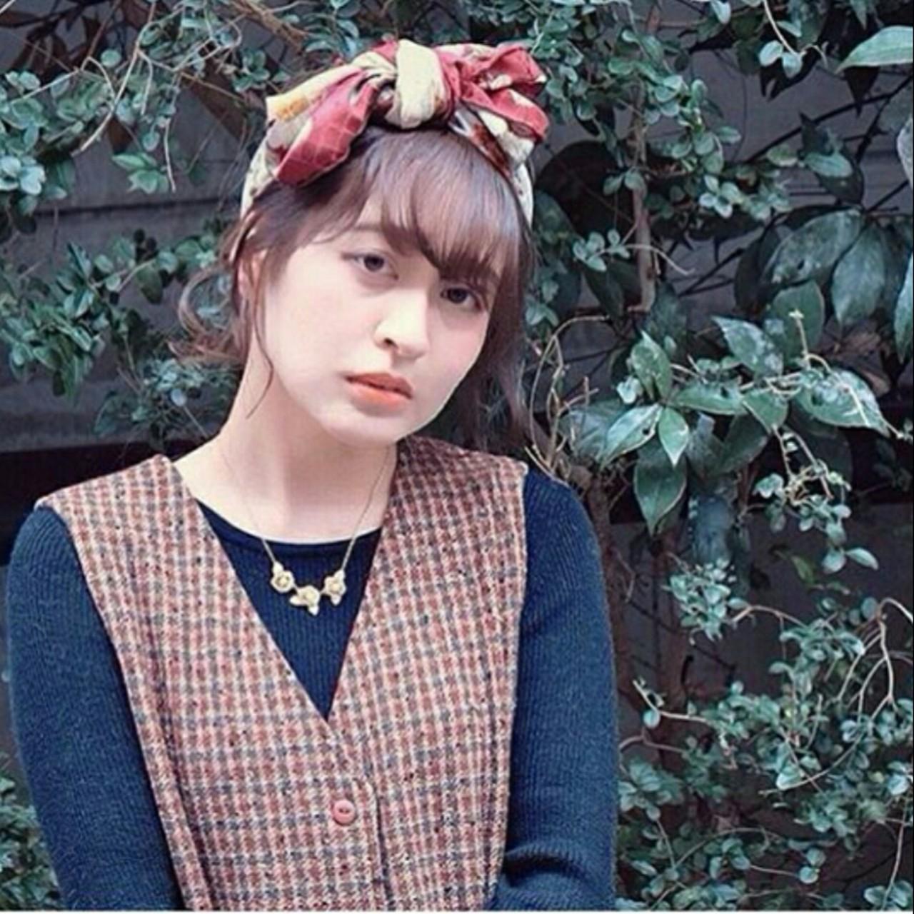レトロが流行ってる今だから。絶対挑戦したくなるスカーフアレンジ! miharu