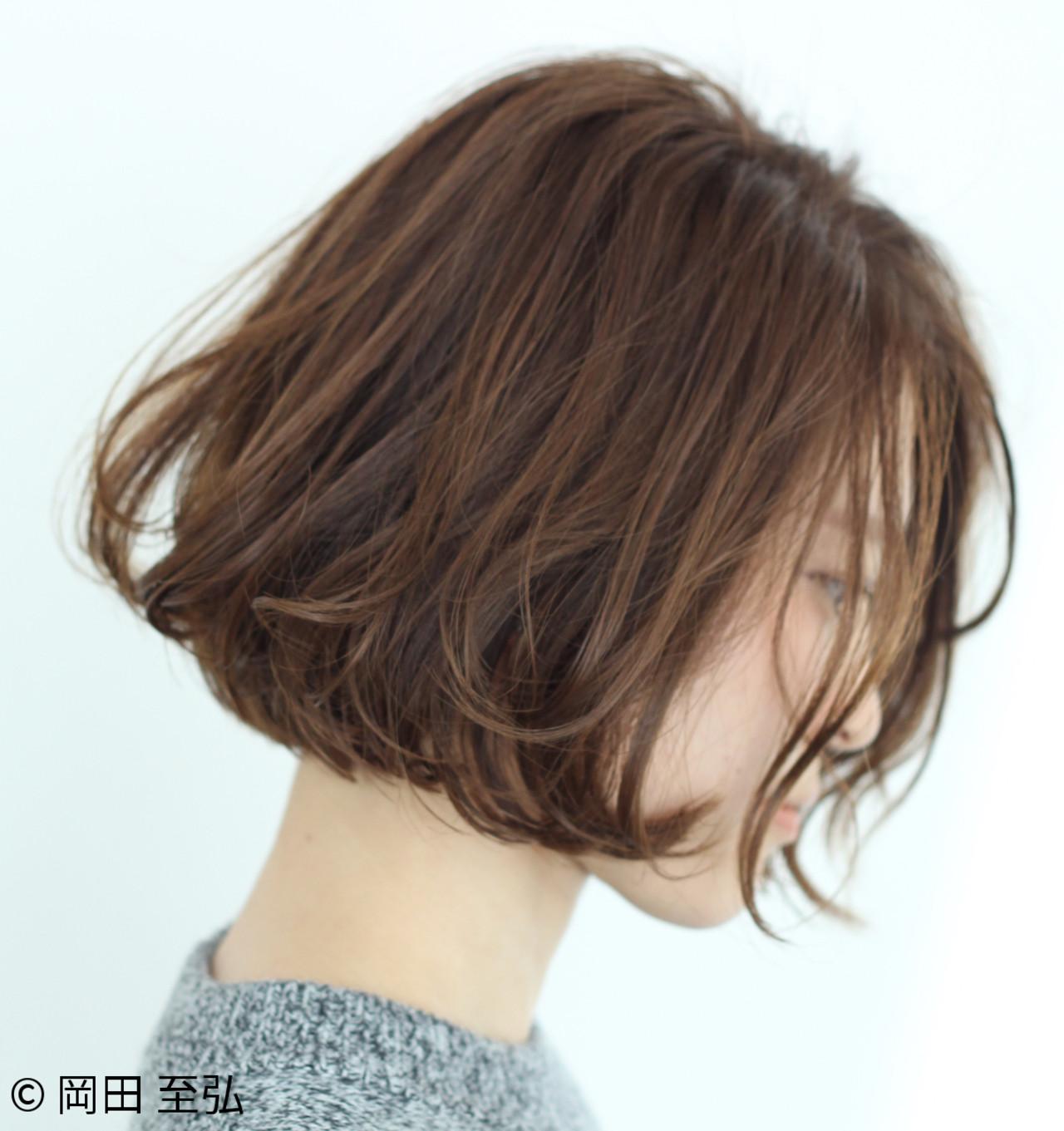 愛され女子のヘアスタイル♡みんなが選んだボブヘアTOP10! 岡田 至弘 MASHU