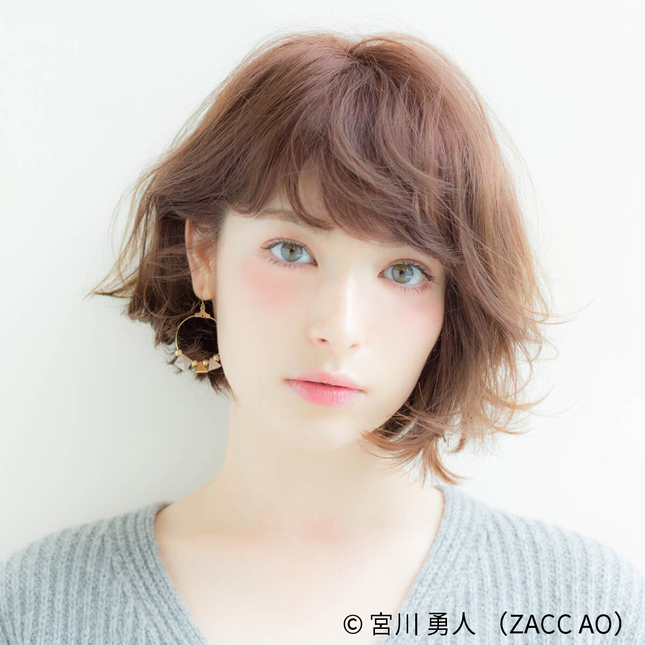 ザクザクがおしゃれ♡「シースルーバング」「ザクザクバング」でサクッとイメチェン☆ 宮川 勇人 / ZACC