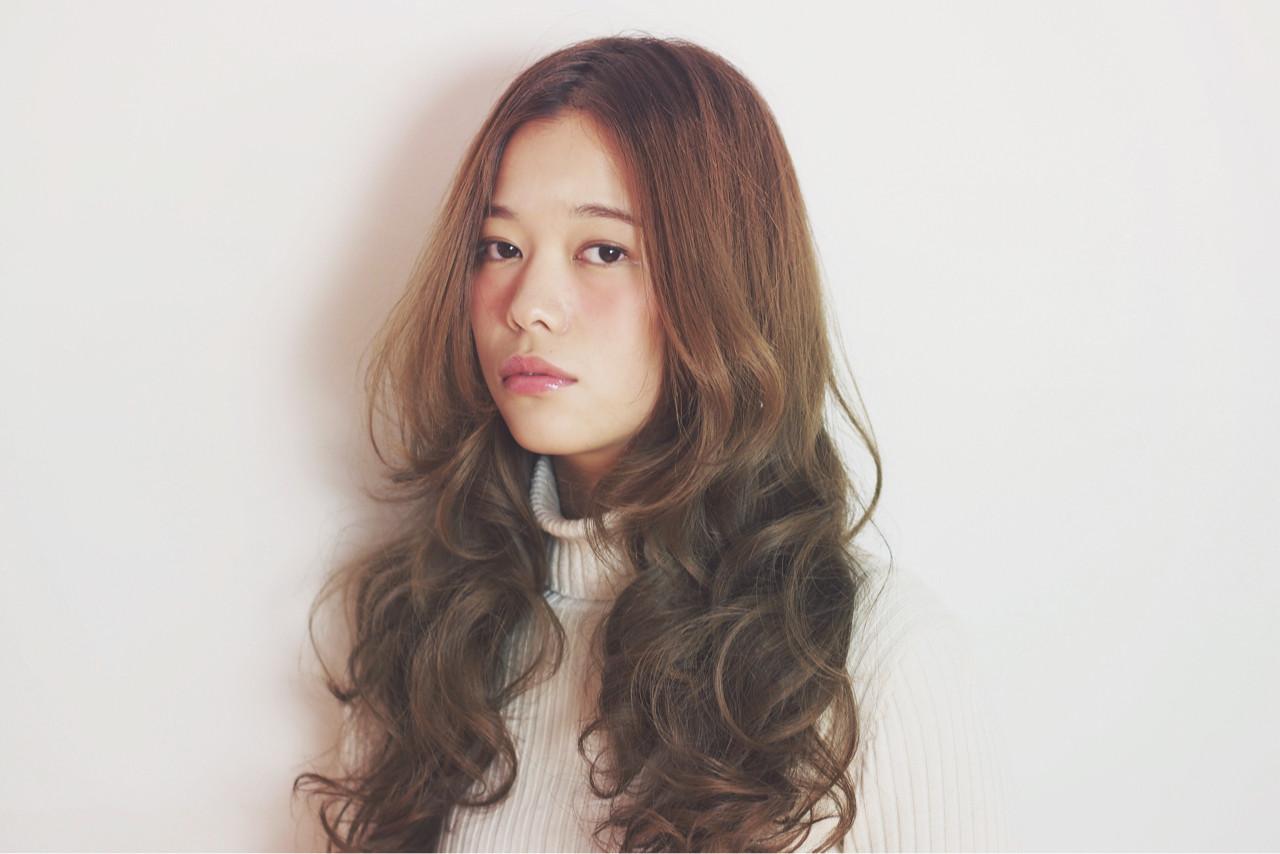 2016年春夏トレンド大特集☆センターパートがオトナの魅力♡ Natsuko Kodama