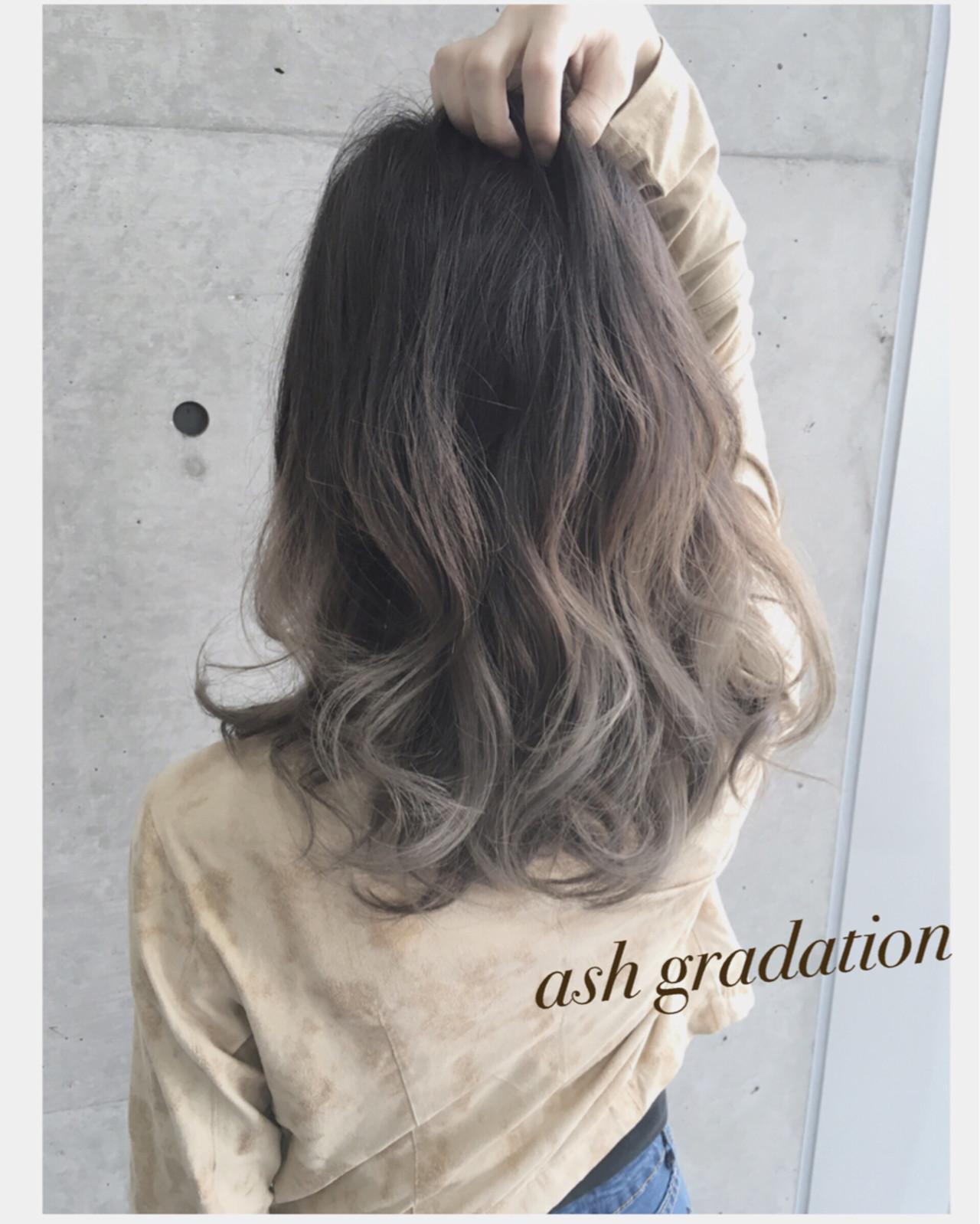 大注目の暗髪×グラデーションまとめ♡ポイントは毛先とハイライト サロンディレクター 古居 和哉