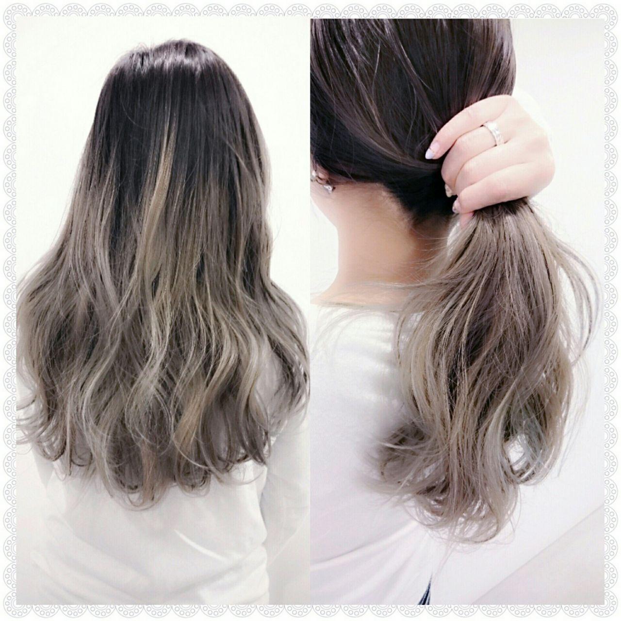 大注目の暗髪×グラデーションまとめ♡ポイントは毛先とハイライト 白川 知博 KEYMAN
