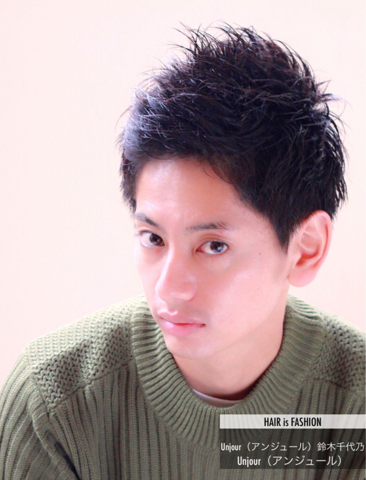 カレがもーっとイケメンに♡彼氏にしてほしいメンズヘアスタイルはこれだ! Unjour(アンジュール)鈴木千代乃