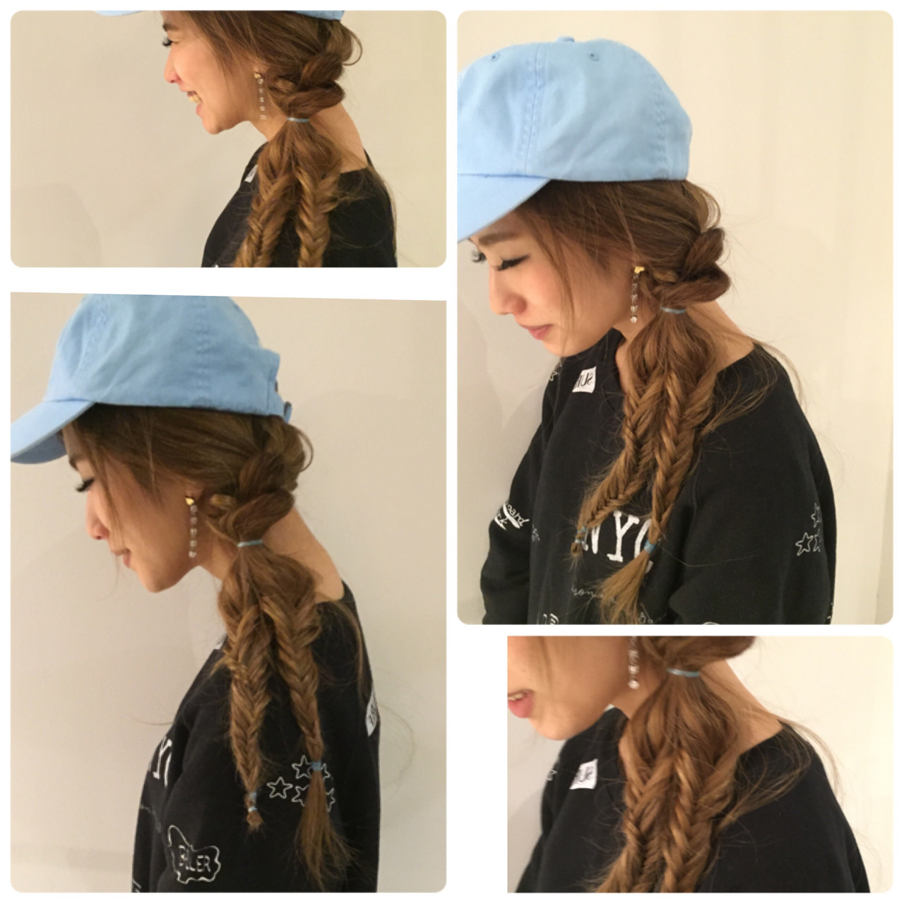 【髪型別】女子のためのキャップのかぶり方♡前髪・お団子・巻き髪…使えるtips集 北口 和樹