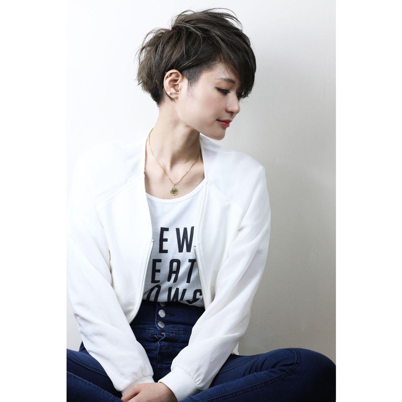 ジェンダーレス女子は中性的な髪型が決め手♡テイスト別にスタイル紹介! NOBU 伊藤修久 【VILLA】