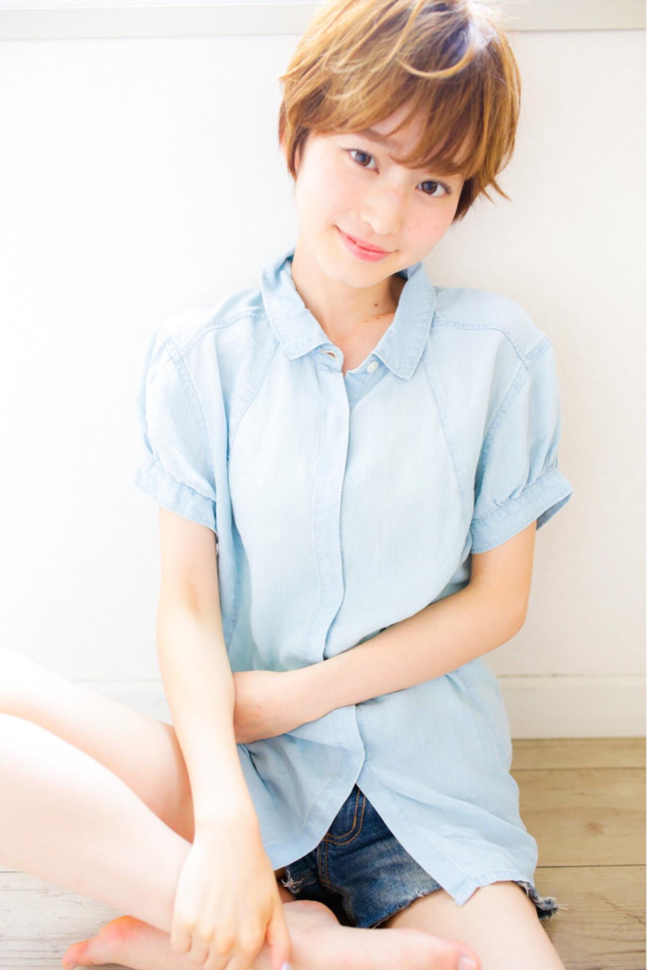 ショートカットの魅力UPはグラデーションカラーで!髪色の魔法で変身♡ Naoki Fujioka