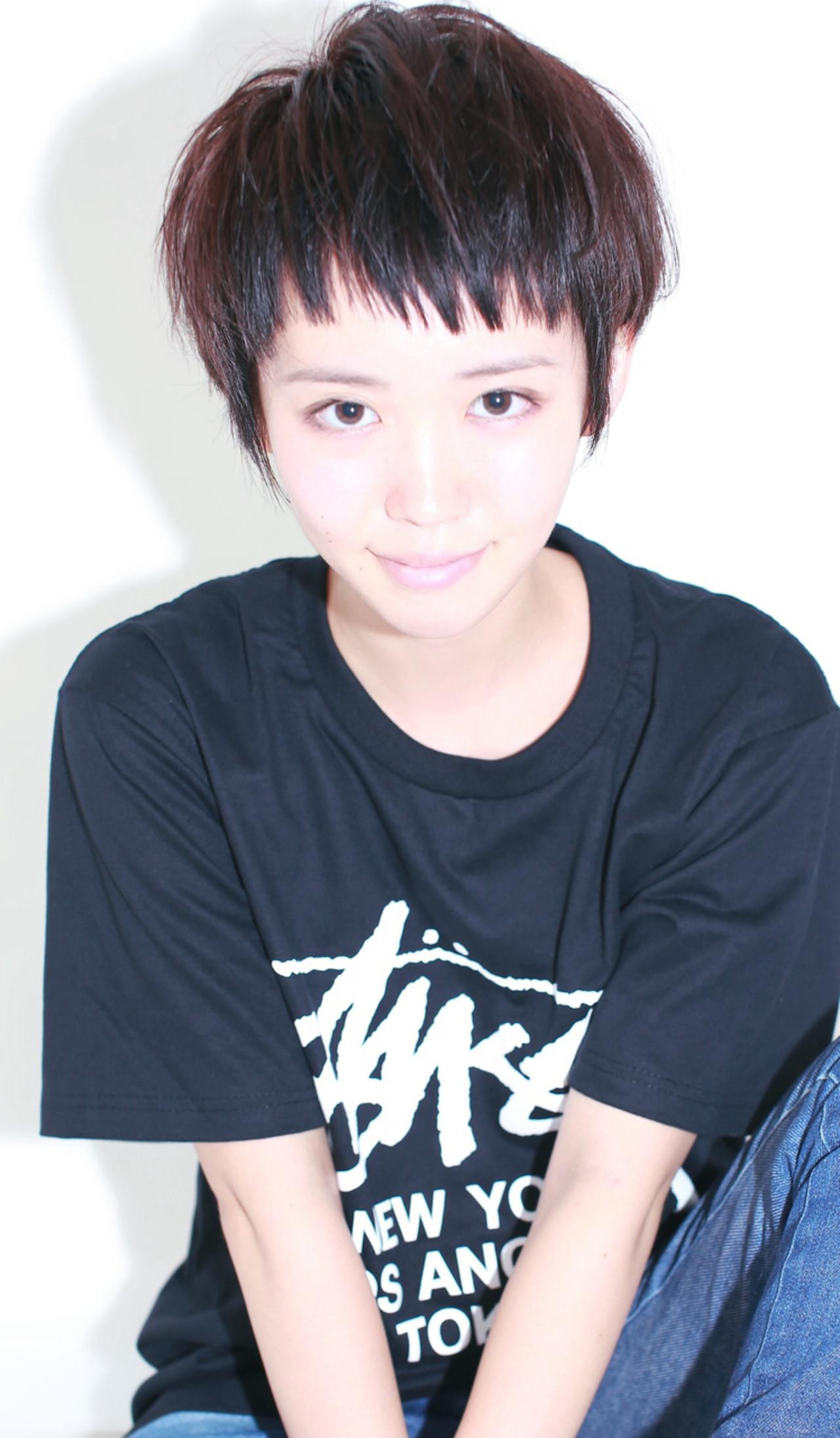 ジェンダーレス女子は中性的な髪型が決め手♡テイスト別にスタイル紹介! イマムラ スナオ