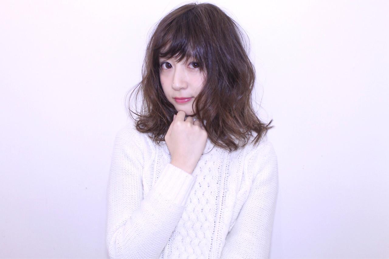 """テイスト七変化♡ ファッション""""自由形""""女子はミディアムでキメるっ! 長井美菜 Coast."""