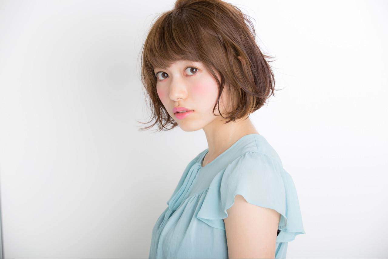ショートカットの魅力UPはグラデーションカラーで!髪色の魔法で変身♡ 植原健太