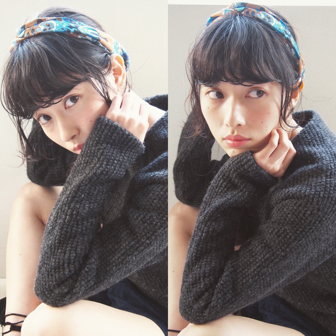 レトロが流行ってる今だから。絶対挑戦したくなるスカーフアレンジ! UEKI/nanuk