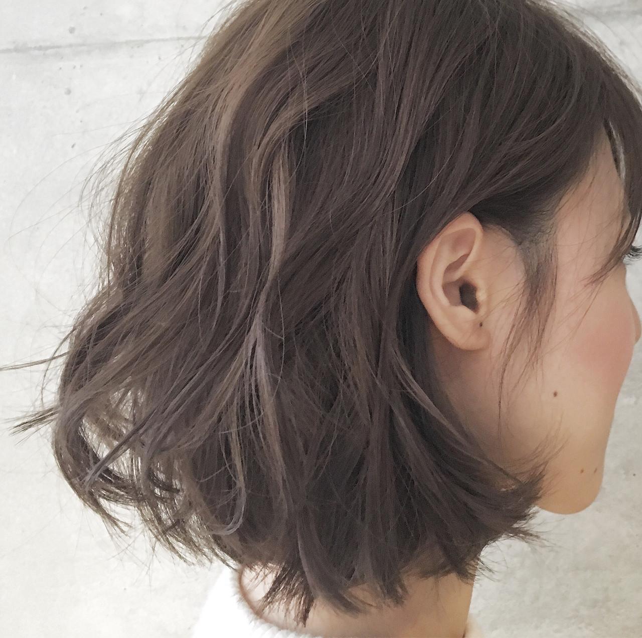 大注目の暗髪×グラデーションまとめ♡ポイントは毛先とハイライト Sayaka