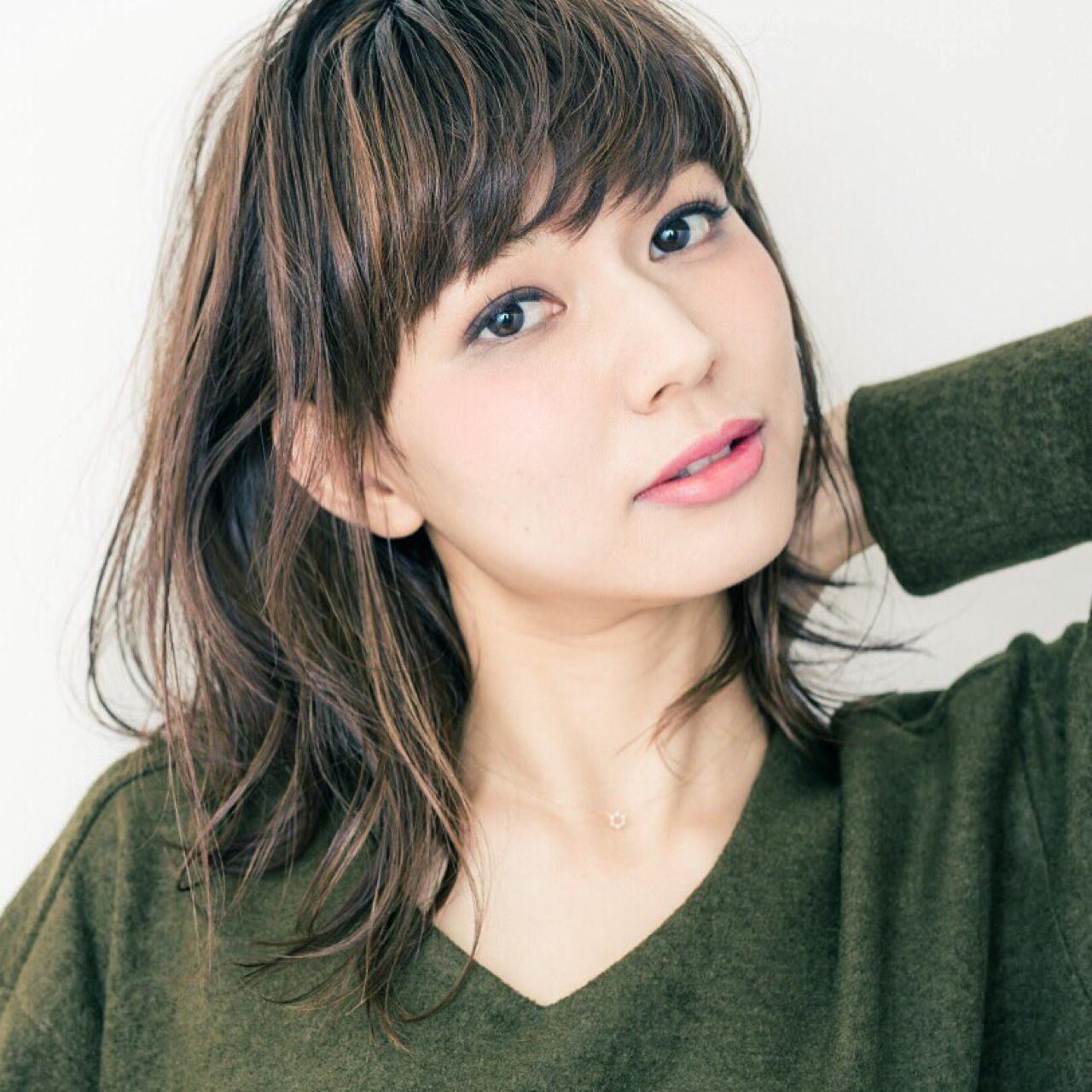 女子のモテる髪型はずばりミディアムレイヤー♡人気のヒケツに迫ります! Tomoya Urasaki