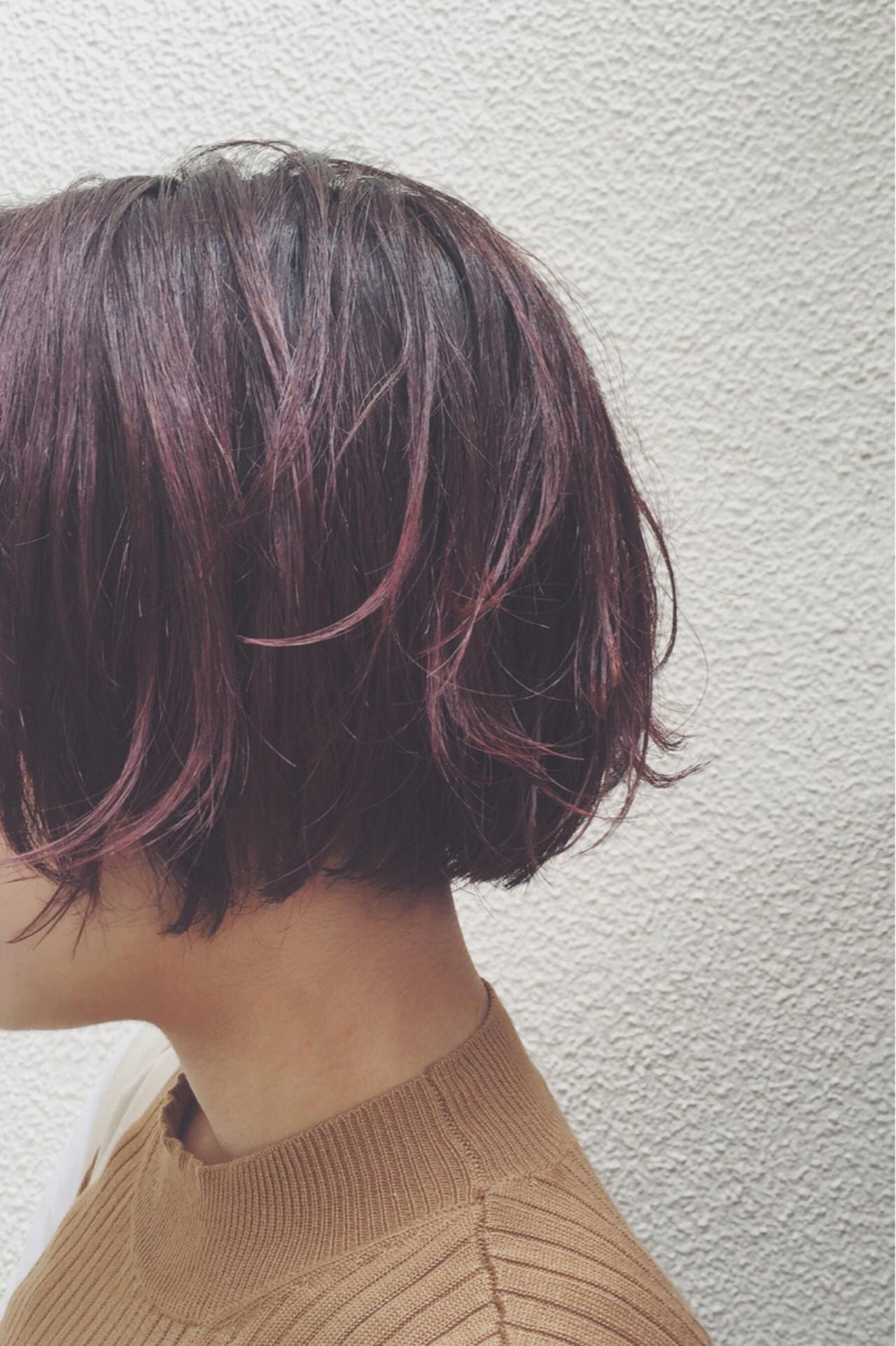 """秋を先取りするなら""""髪色は暗め""""でお洒落な秋色に♡ yuji_yamaguchi"""