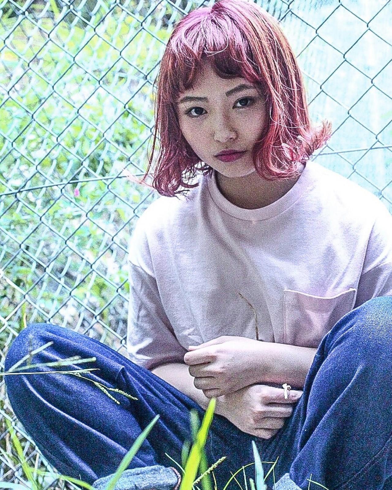 """【2016秋】ヘアカラーは""""ピンク系""""で決まり♡秋カラーを先取! Maaco"""