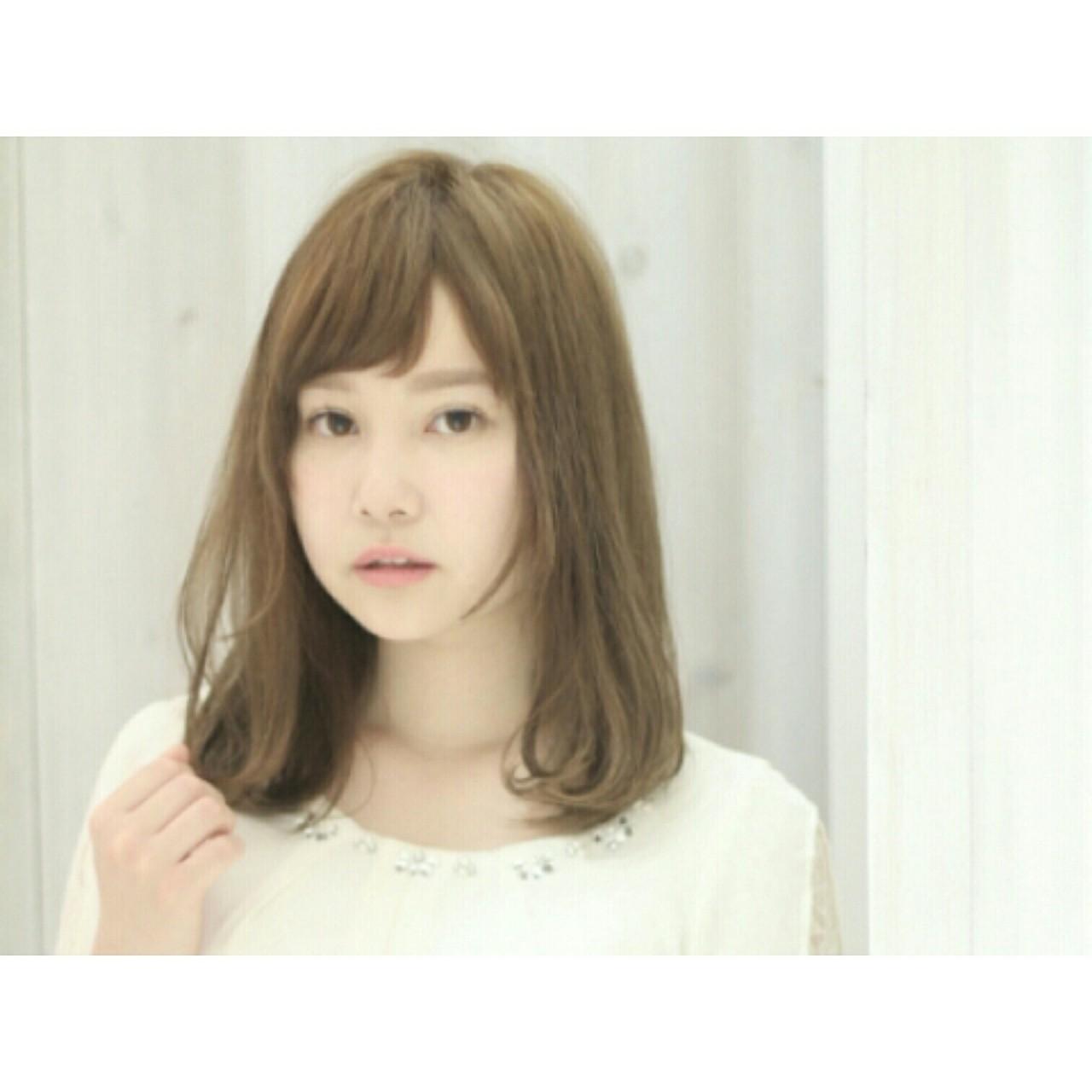 """髪型で小顔に見える""""3つのテクニック""""♡このテクさえ掴めばアナタも明日から小顔美人に。 福崎未来"""