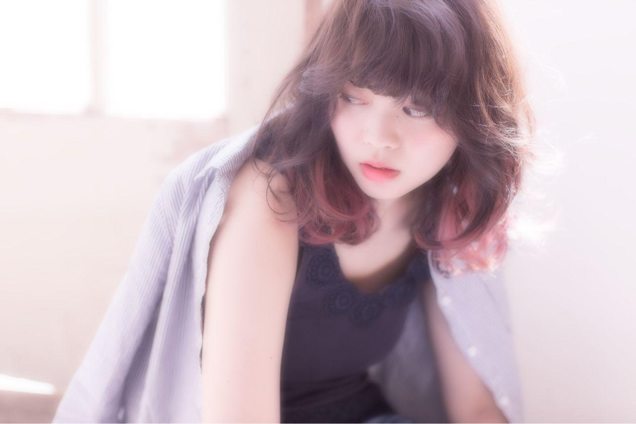 大注目の暗髪×グラデーションまとめ♡ポイントは毛先とハイライト 木暮 史明
