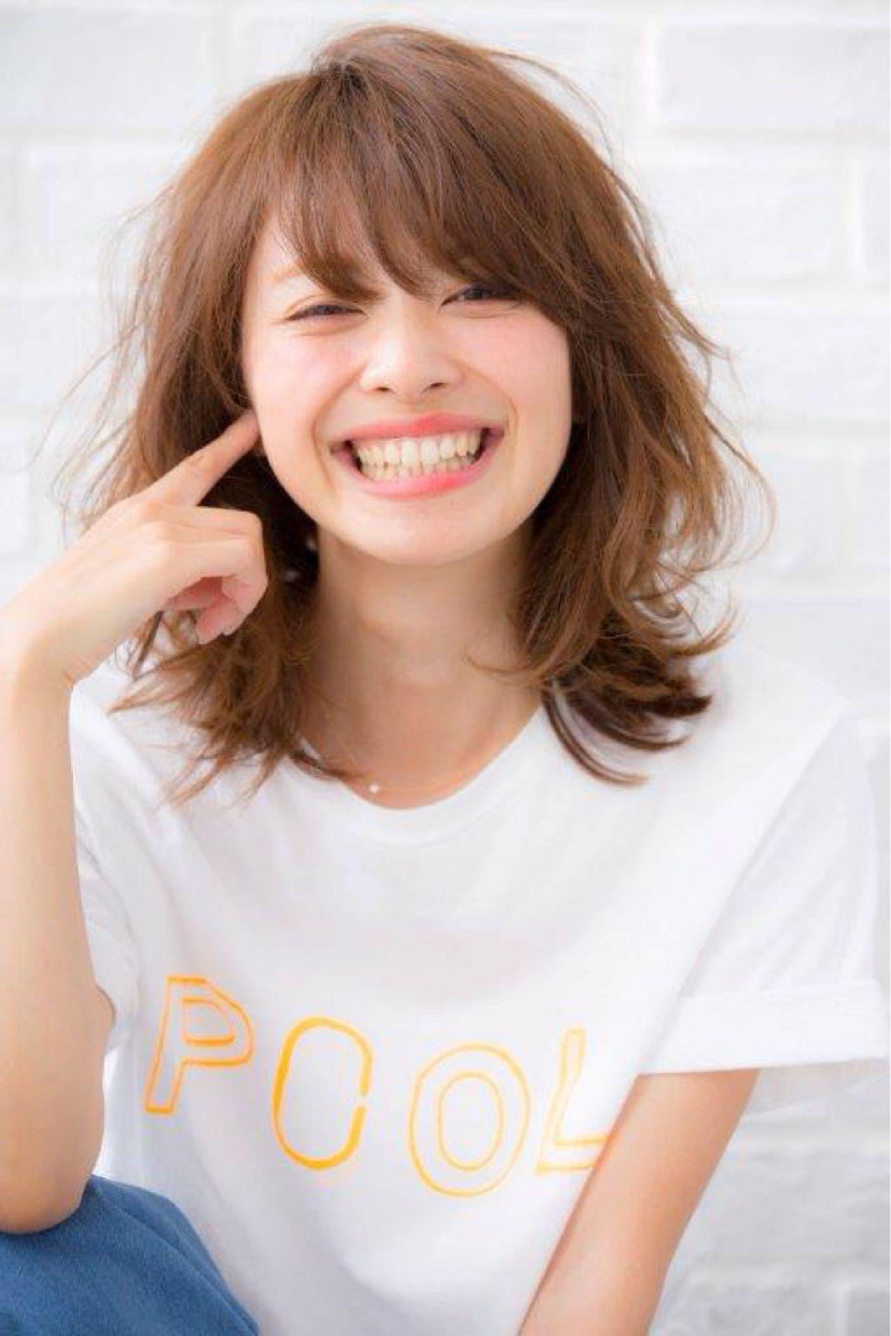 女子のモテる髪型はずばりミディアムレイヤー♡人気のヒケツに迫ります! 高橋俊友