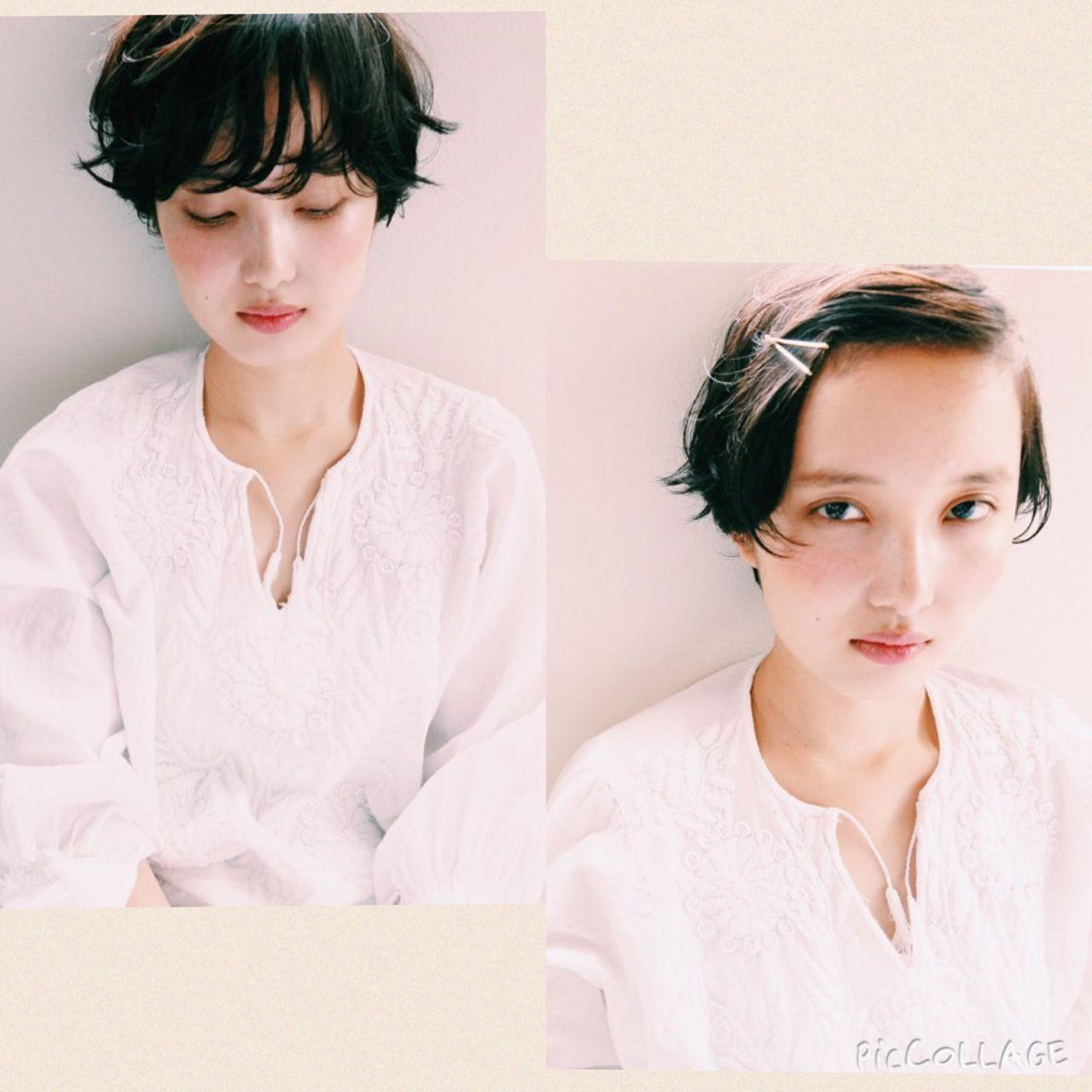 黒髪ショートのスタイル集♡面長・丸顔、前髪なしありに分けて紹介! 山下 純平 / nanuk