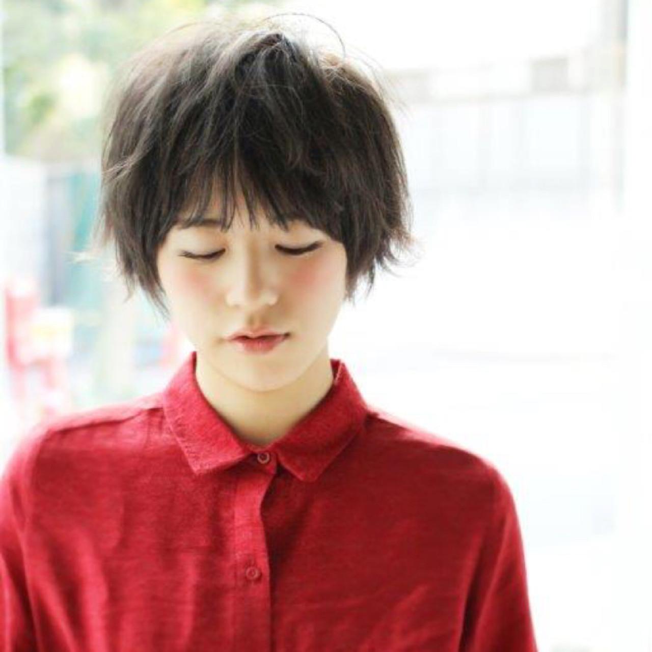 ショートヘアに新常識!外ハネミックスが可愛いってウワサ♡ 増永 剛大/Un ami