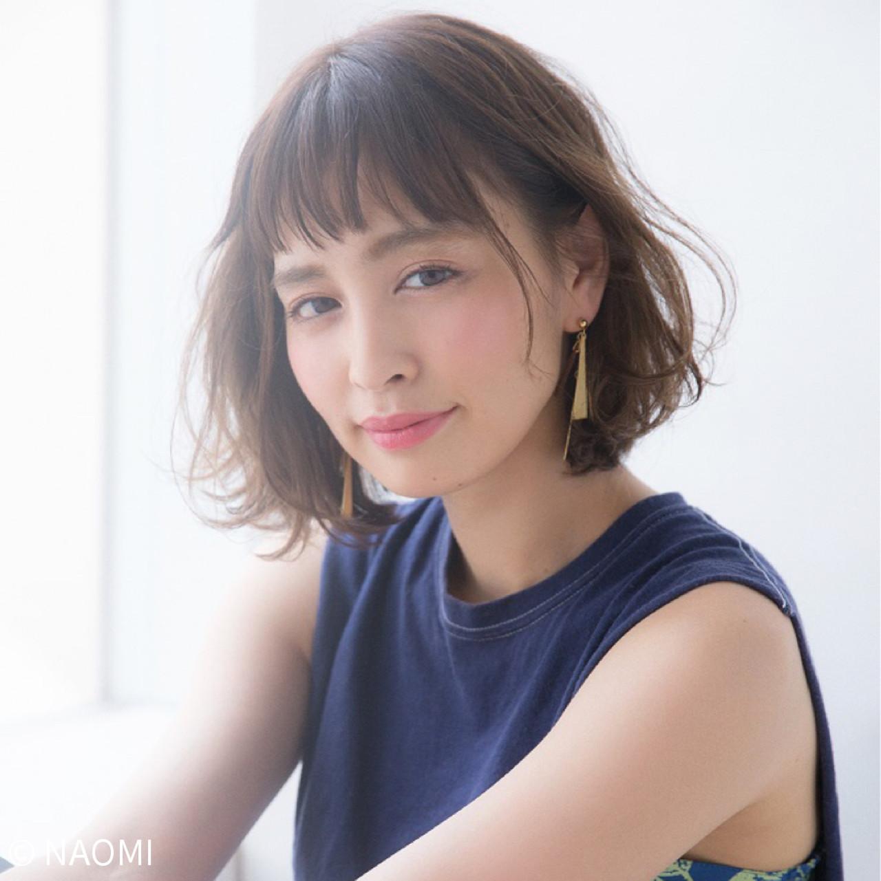 愛され女子のヘアスタイル♡みんなが選んだボブヘアTOP10! NAOMI