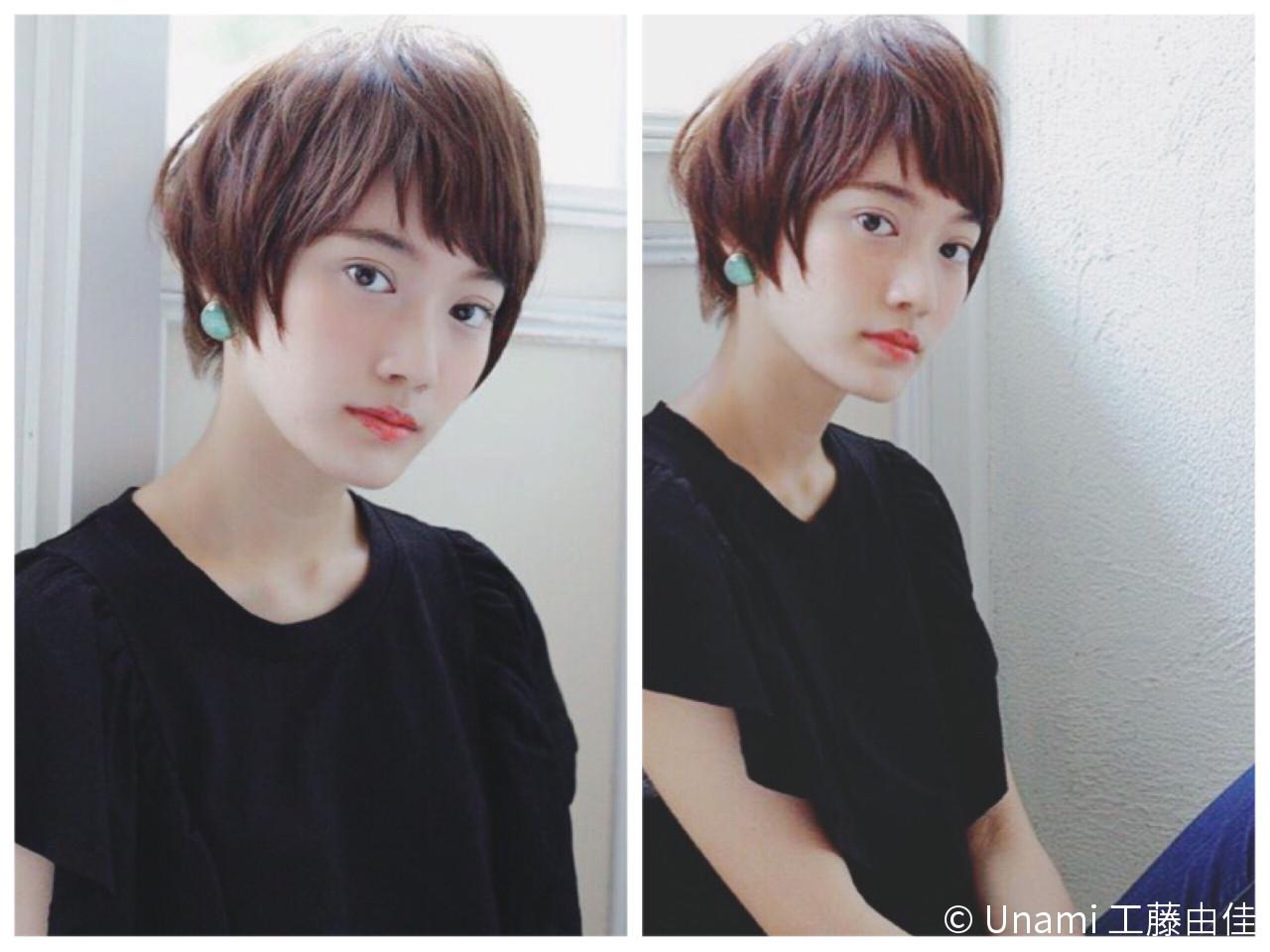 """髪型で小顔に見える""""3つのテクニック""""♡このテクさえ掴めばアナタも明日から小顔美人に。 Unami 工藤由佳"""