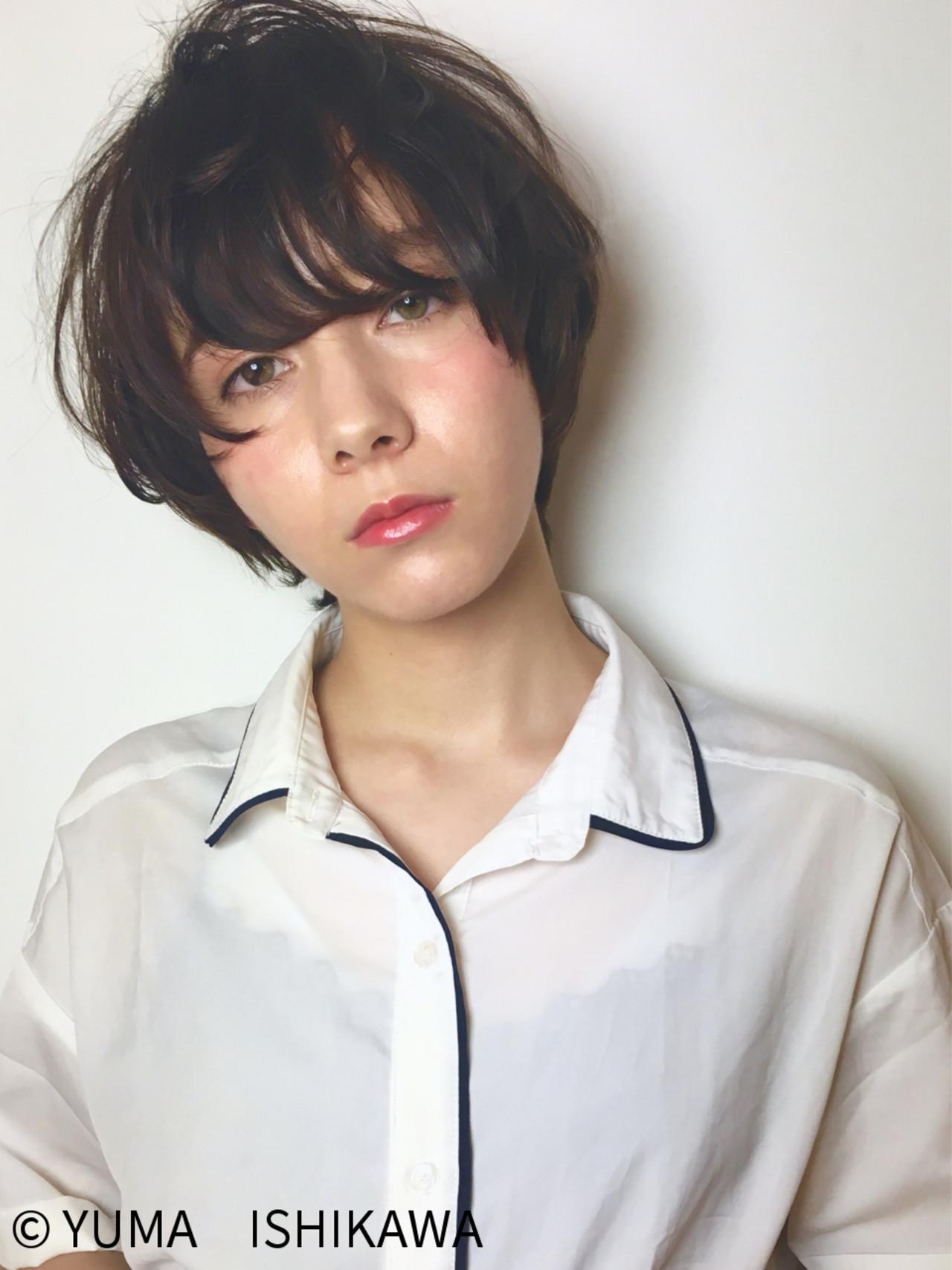 """髪型で小顔に見える""""3つのテクニック""""♡このテクさえ掴めばアナタも明日から小顔美人に。 YUMA ISHIKAWA"""
