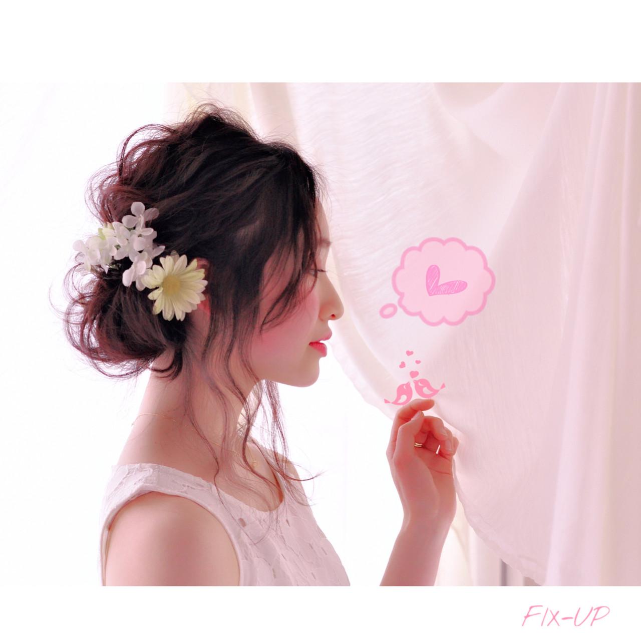 最高に華やかな花嫁さんになるために*お花で飾る結婚式ヘアアレンジ♡ 奥村 祐亮