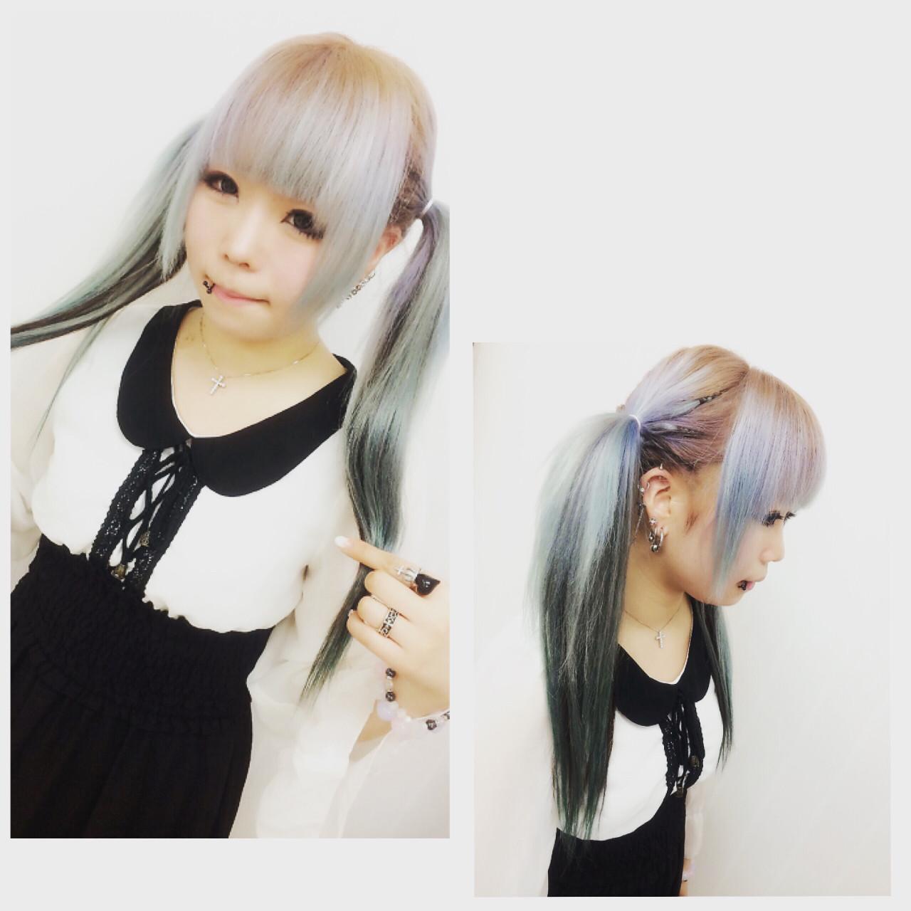 髪型 姫毛