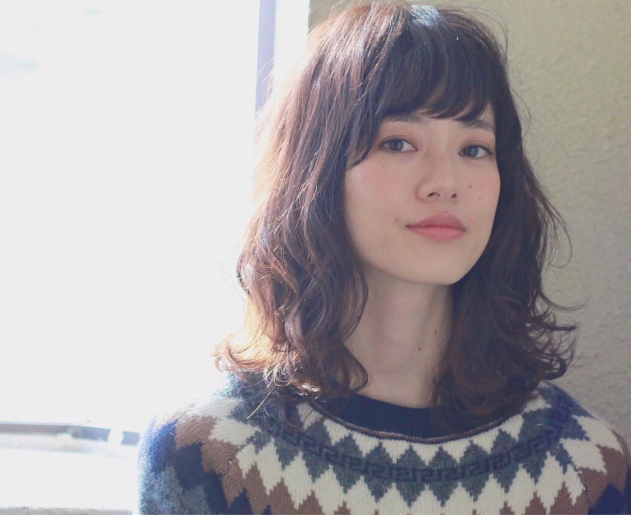"""テイスト七変化♡ ファッション""""自由形""""女子はミディアムでキメるっ! 冨永 真太郎 Henri"""
