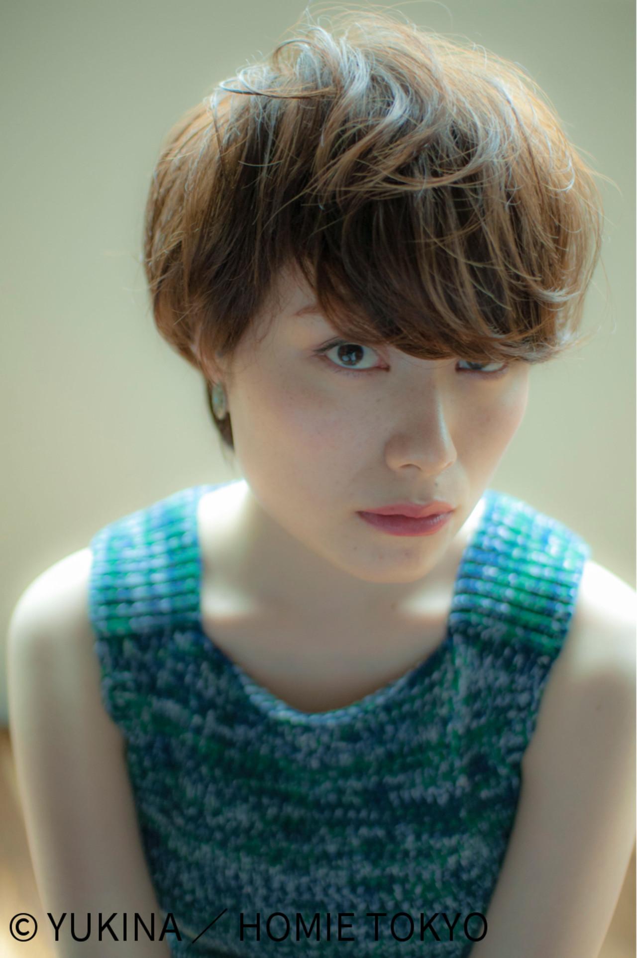 綺麗なカタチで魅了♡マッシュショート YUKINA / HOMIE TOKYO