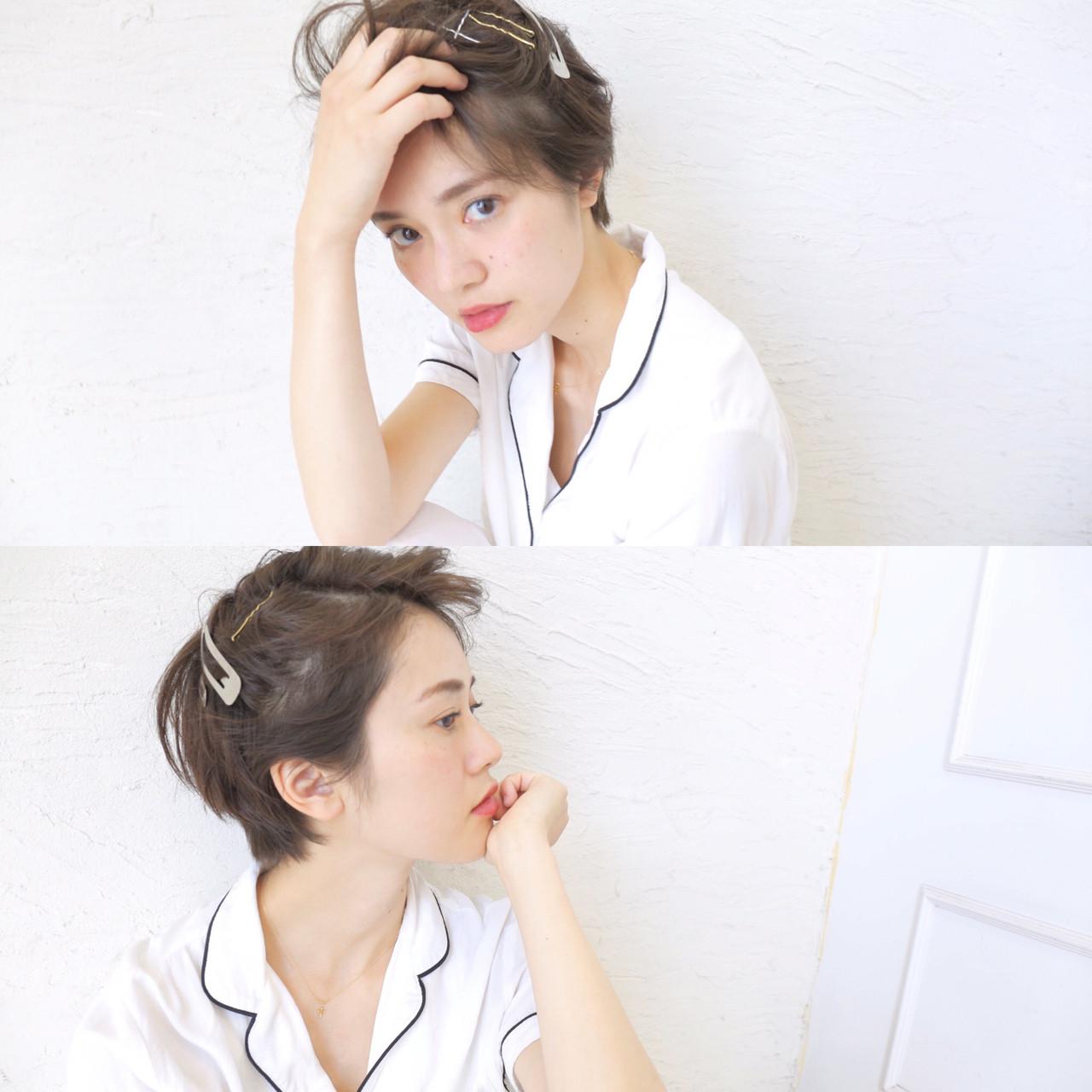 【2016夏ヘアアレンジ特集】ショートヘアでもできるアレンジ♡この夏のスタイル可愛さ倍増しちゃえ♪ 原田直美