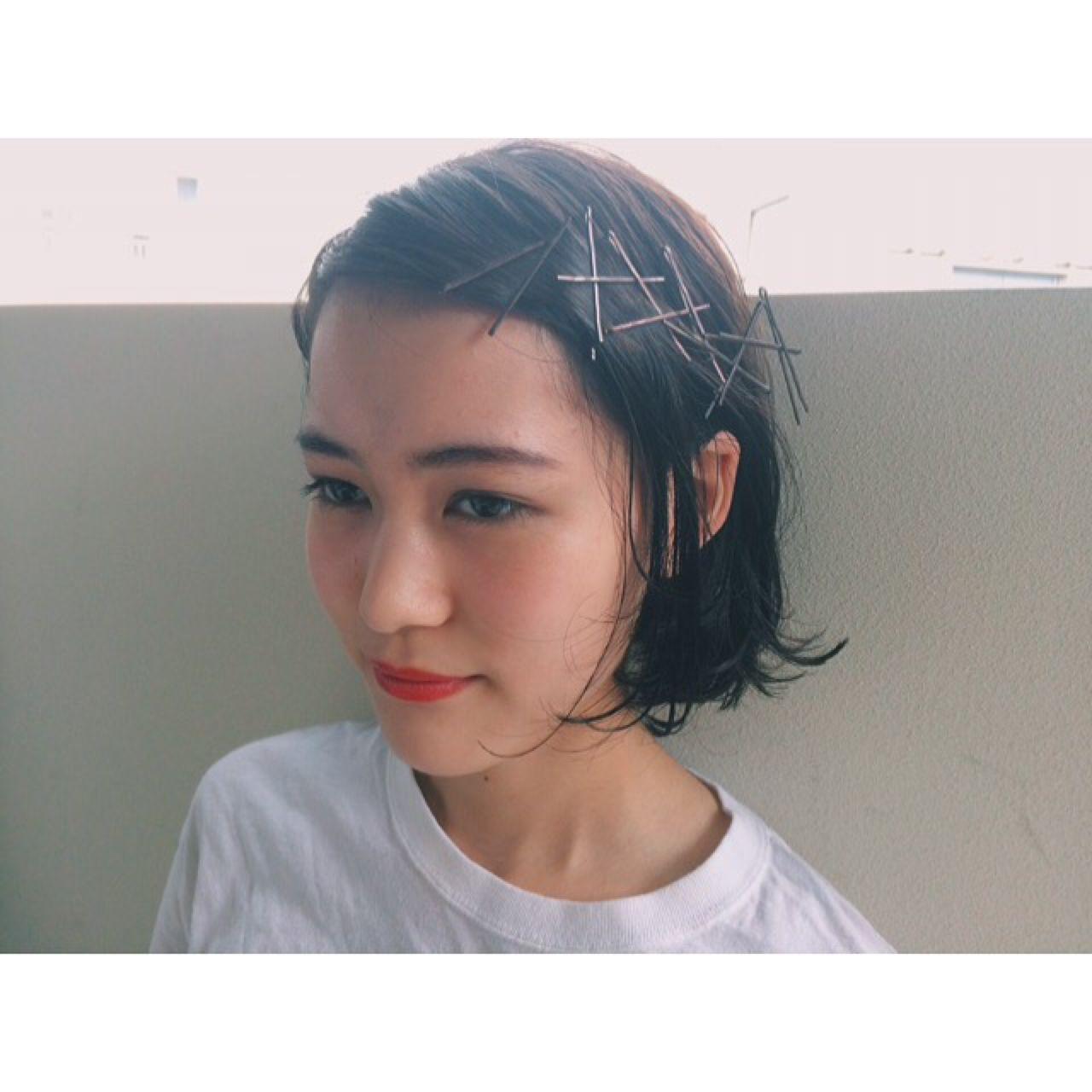 【2016夏ヘアアレンジ特集】ショートヘアでもできるアレンジ♡この夏のスタイル可愛さ倍増しちゃえ♪ asako / nanuk shibuya