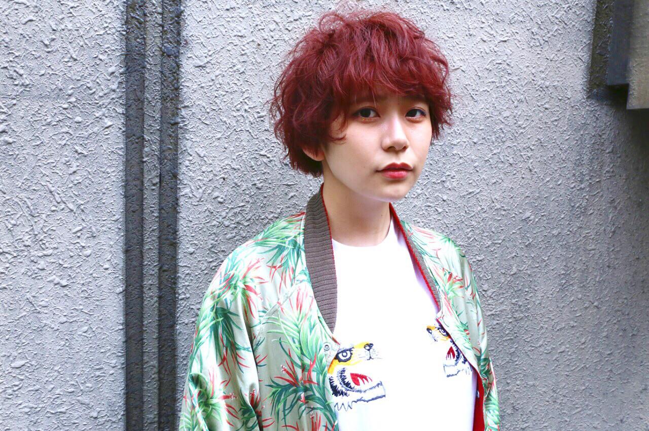 綺麗なカタチで魅了♡マッシュショート 藤山将太