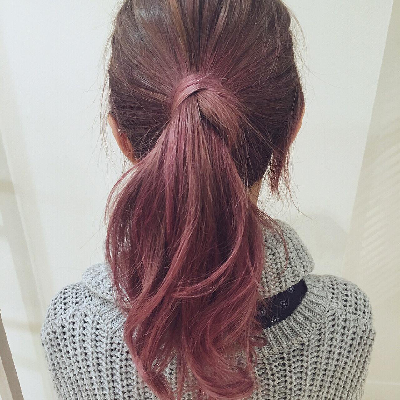 髪、切る前に遊んでみない?毛先○cmの春色ピンクがマンネリ気分にサヨナラを告げる♡ 坂本一馬/Garden hair