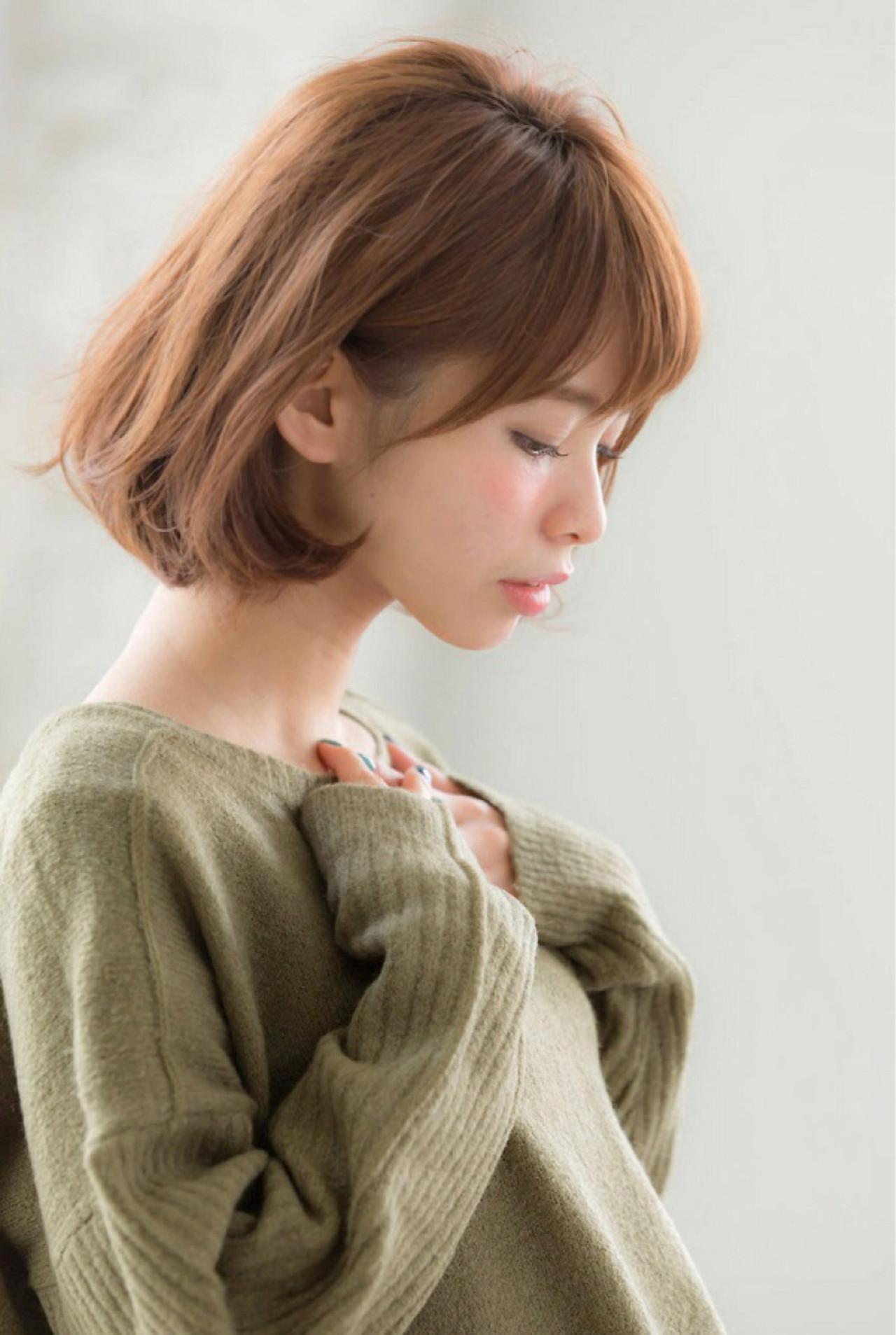 ボブ好きさん必見!タイプ別・愛され女子のフェミニンボブ♪ 花野 未帆 / joemi by Un ami
