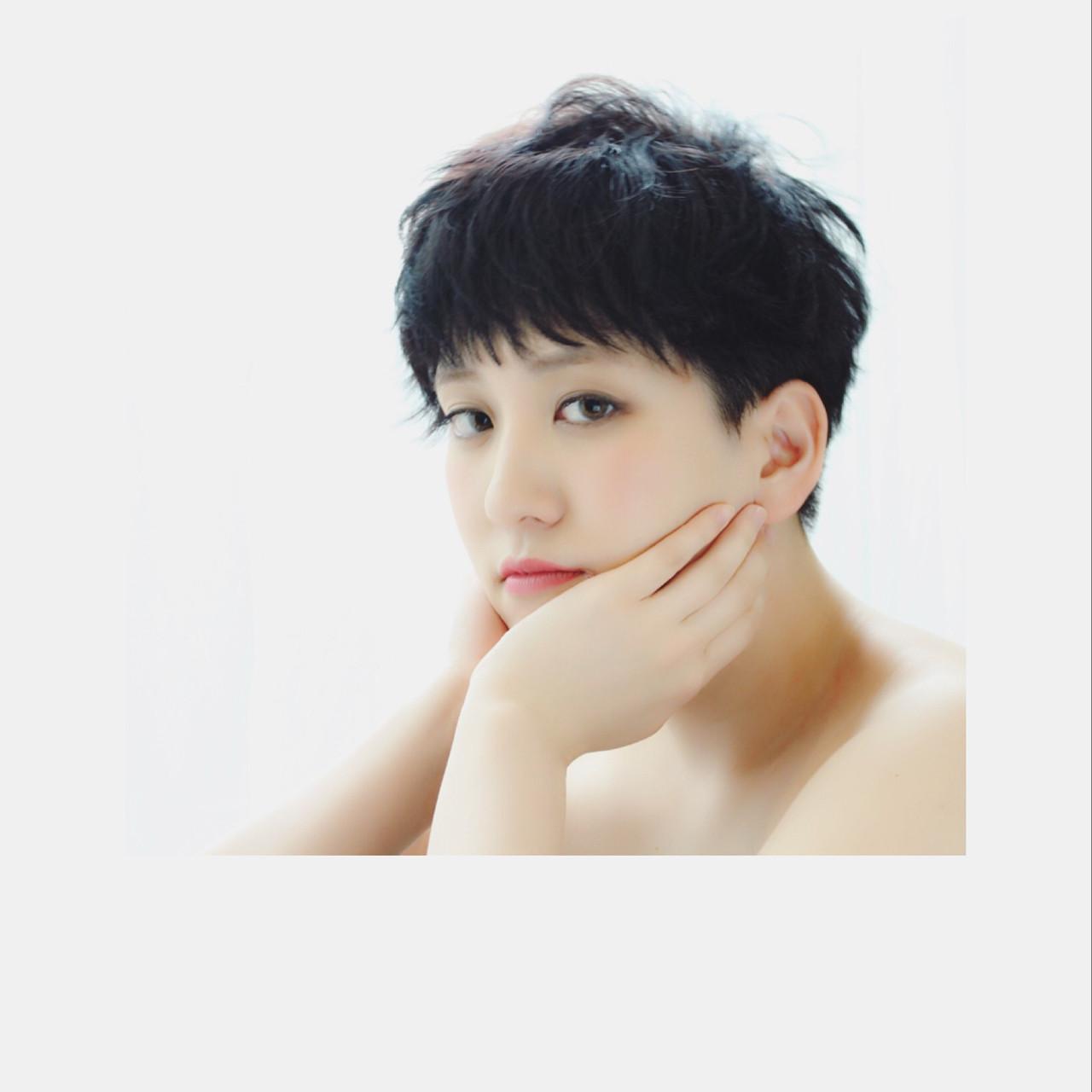 面長さんに似合うショートって?似合わせのコツは形にあった! Mayumi Masumitsu