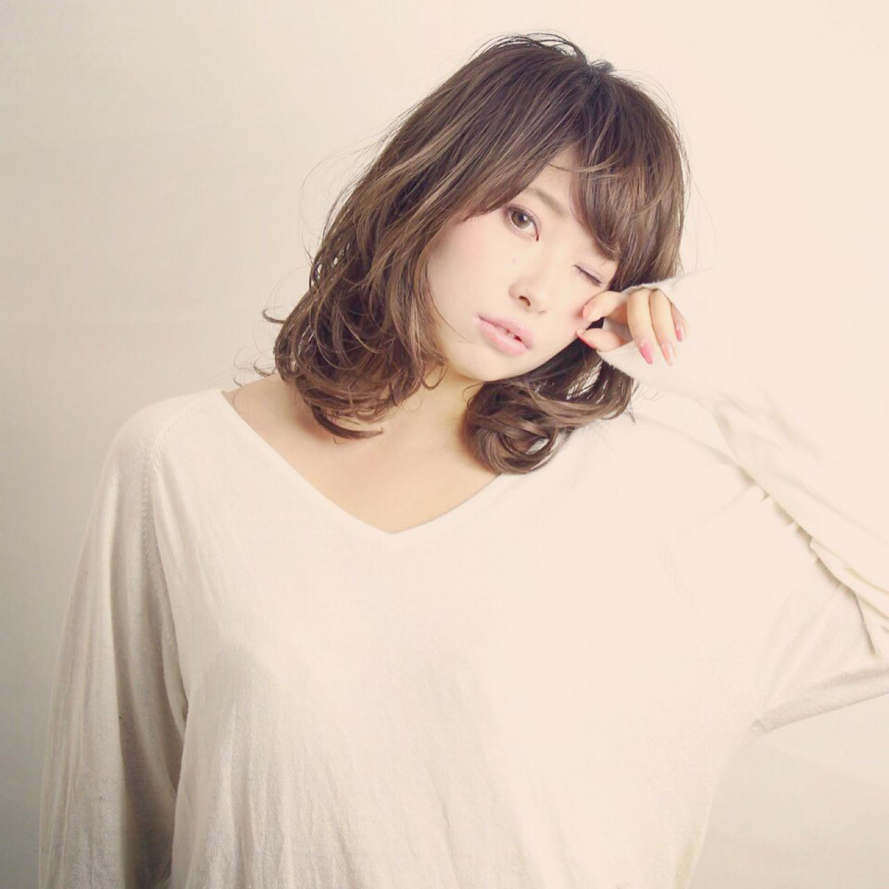 """テイスト七変化♡ ファッション""""自由形""""女子はミディアムでキメるっ! Kyohei Konishi"""
