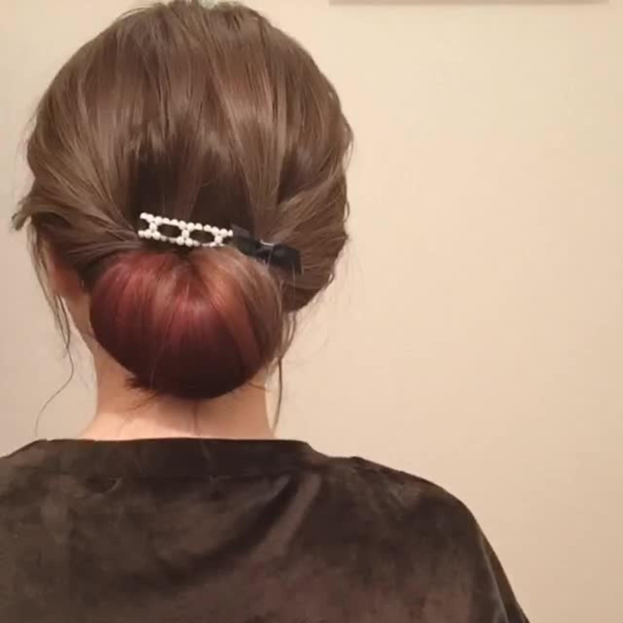 髪、切る前に遊んでみない?毛先○cmの春色ピンクがマンネリ気分にサヨナラを告げる♡ 小幡 恵子