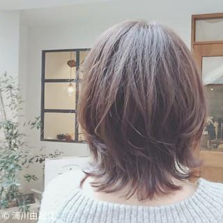 グラデーションカラー ボブ ゆるふわ デート ヘアスタイルや髪型の写真・画像