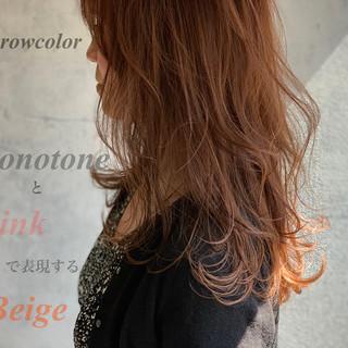 ベージュ アッシュベージュ ヌーディーベージュ ナチュラル ヘアスタイルや髪型の写真・画像