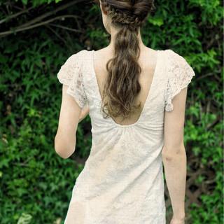 デート ロング 夏 涼しげ ヘアスタイルや髪型の写真・画像