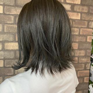 イルミナカラー N.オイル ボブ ナチュラルグラデーション ヘアスタイルや髪型の写真・画像