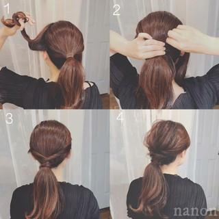 ゆるふわ ヘアアレンジ モテ髪 デート ヘアスタイルや髪型の写真・画像