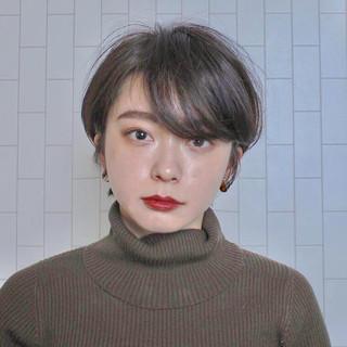 ナチュラル ヘアアレンジ 簡単ヘアアレンジ ショート ヘアスタイルや髪型の写真・画像