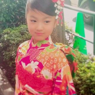 和装 おだんご ヘアアレンジ ガーリー ヘアスタイルや髪型の写真・画像
