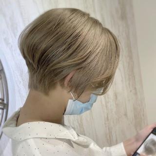 圧倒的透明感 透明感カラー ブリーチ必須 ダメージレス ヘアスタイルや髪型の写真・画像